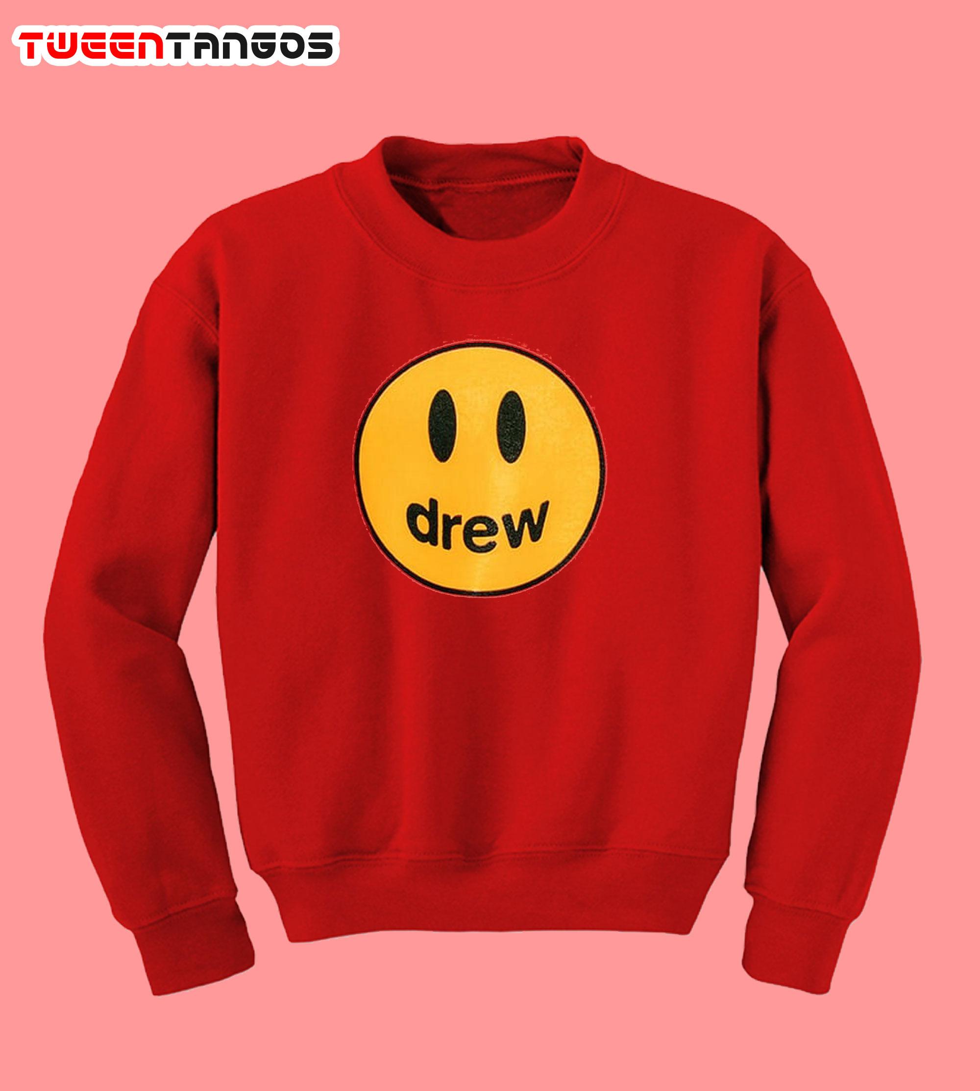 mascot sweatshirt drew house