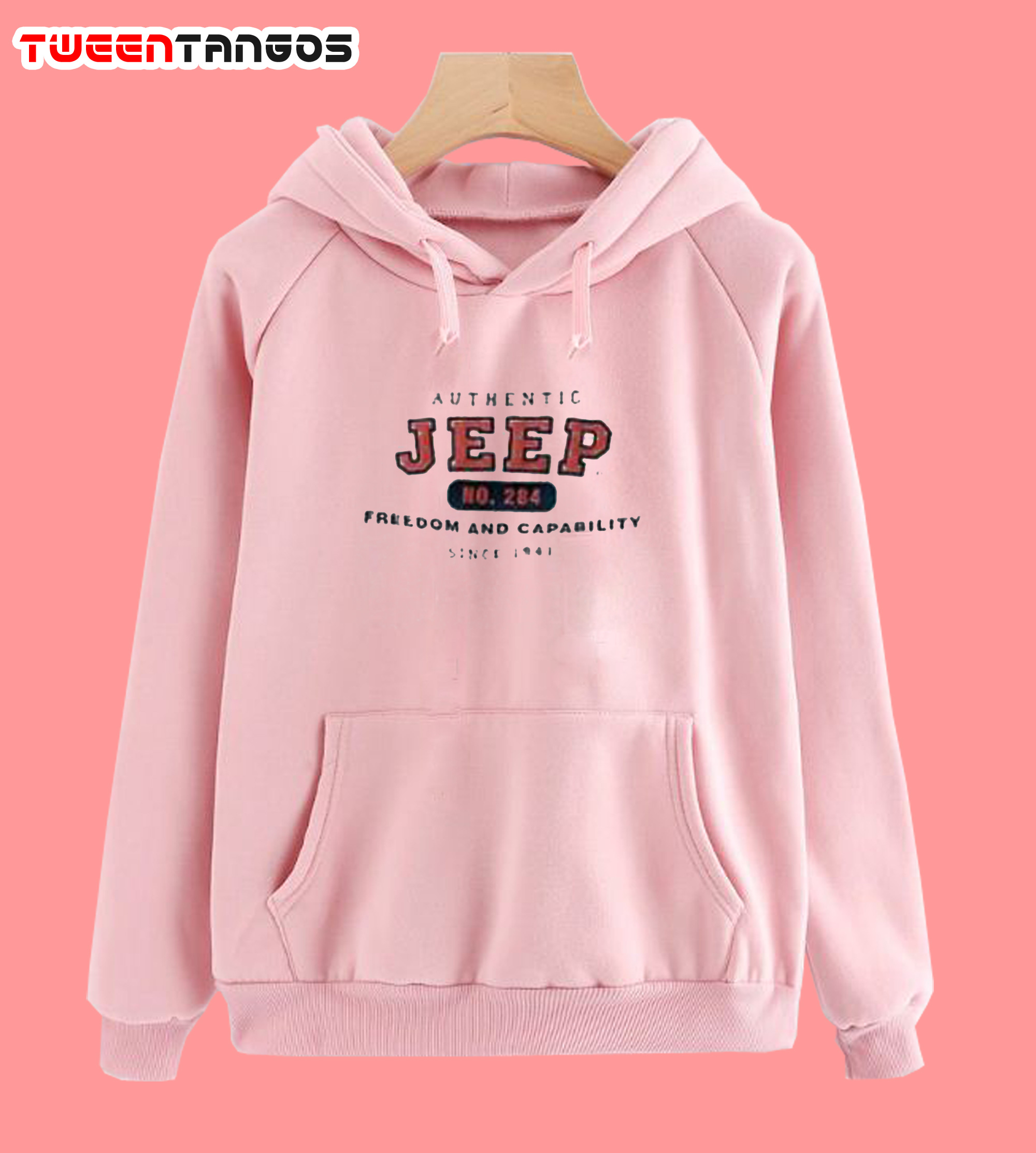Authentic Jeep Pink Hoodie