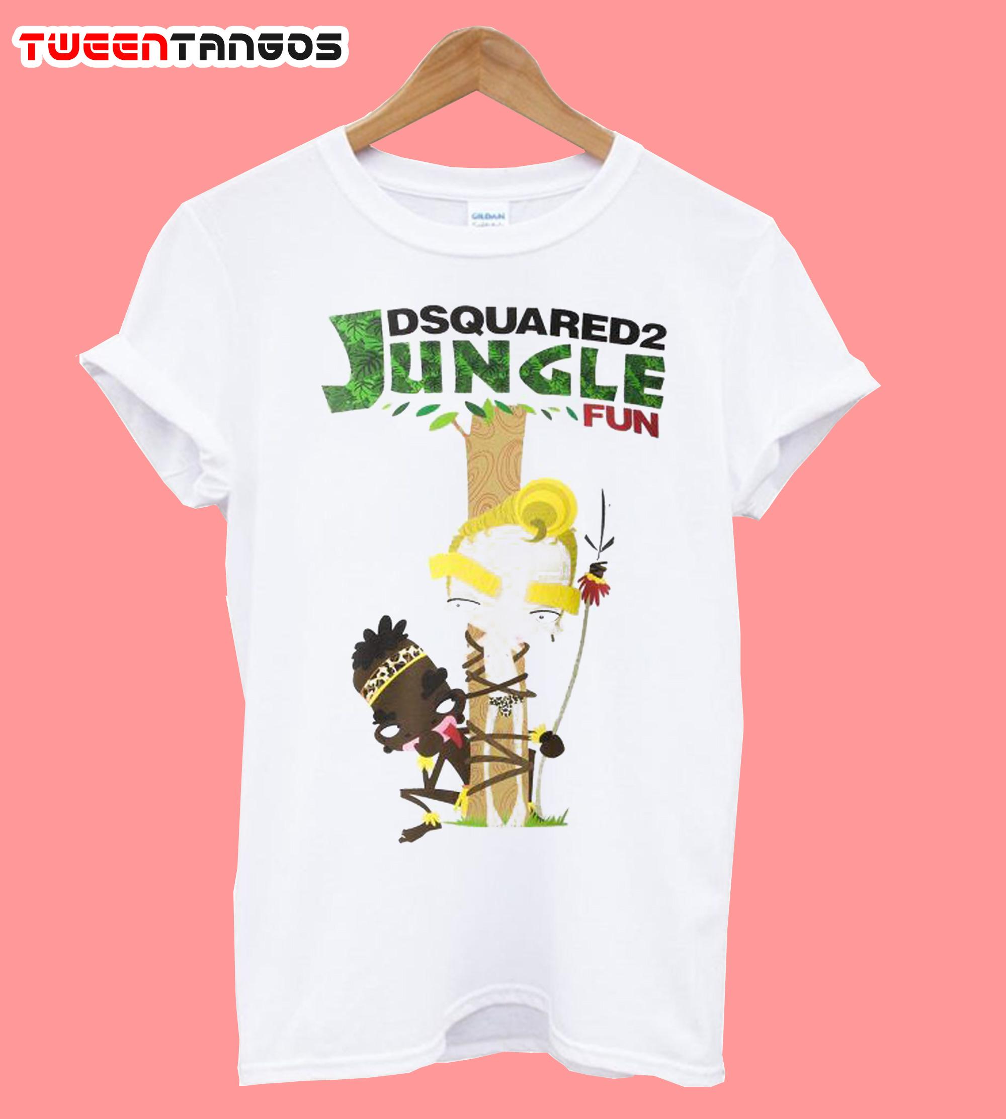 Lyst Dsquared2 Jungle T Shirt