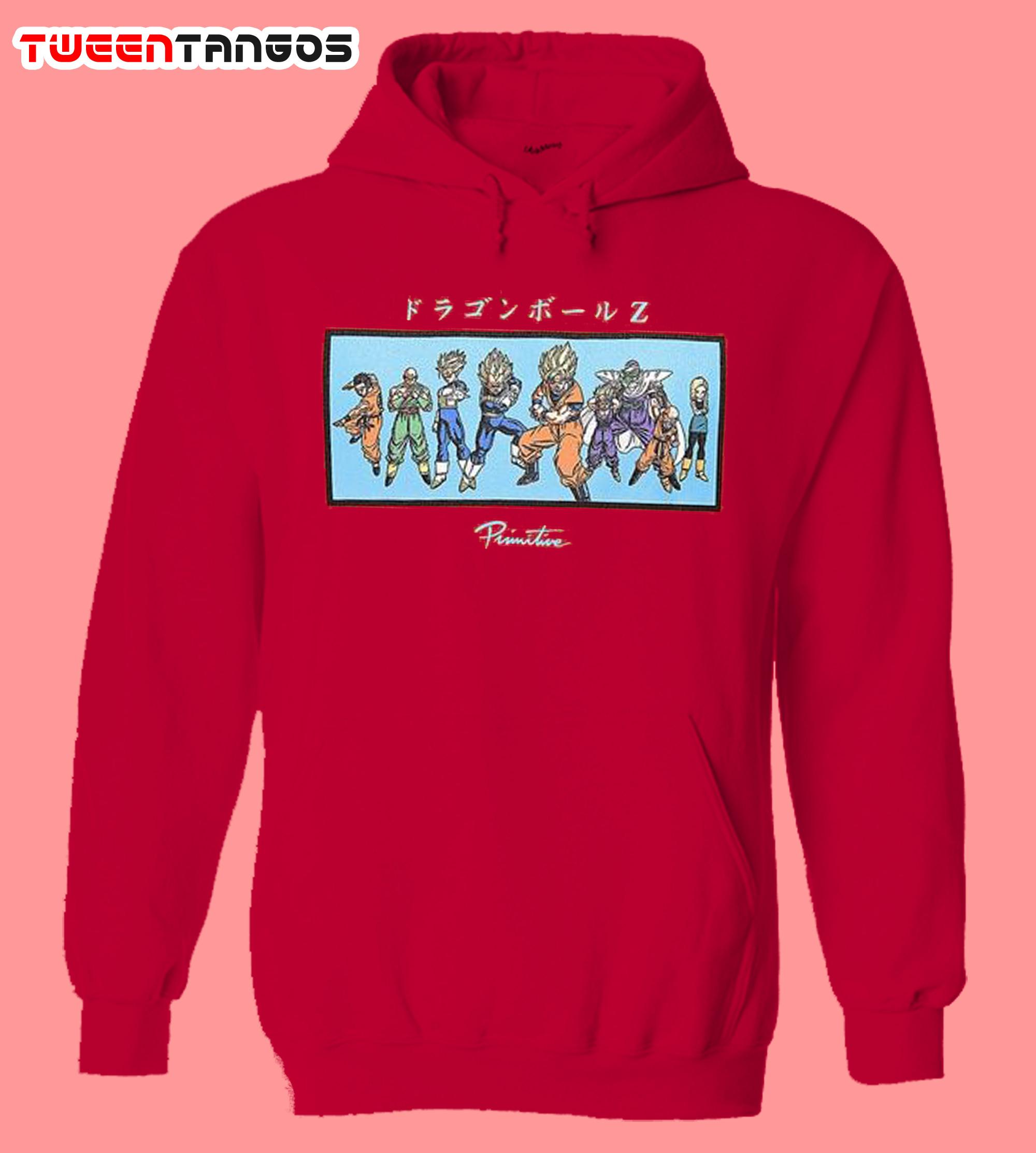 Primitive x Dragon Ball Z Heroes Red Hoodie