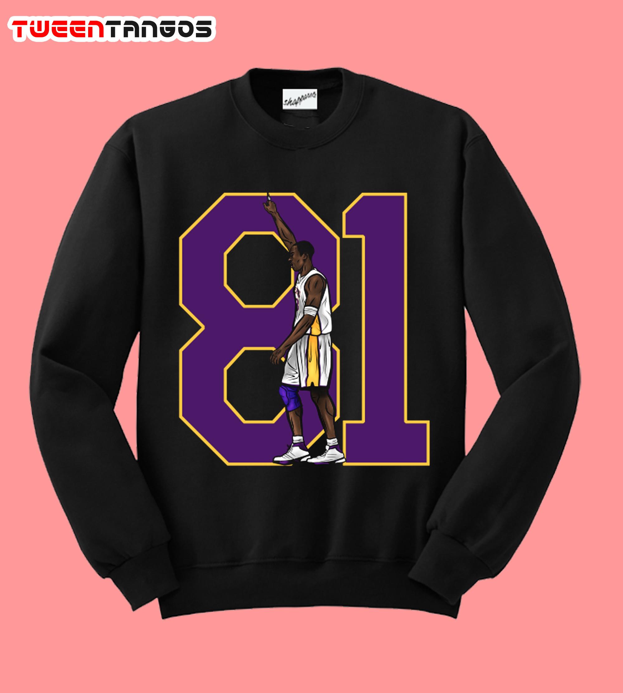 81 Kobe Bryant Sweatshirt