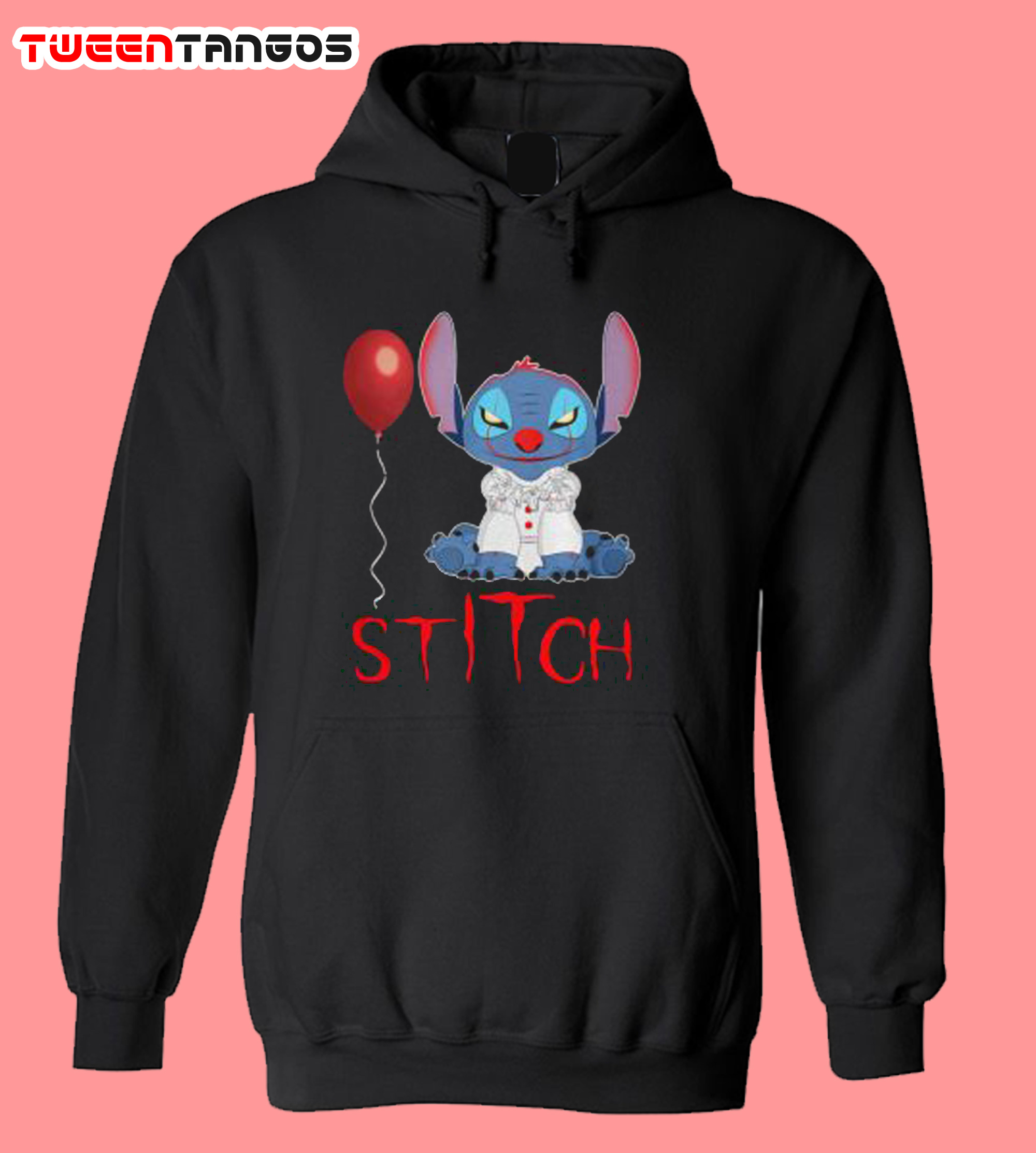 IT Pennywise Stitch Hoodie