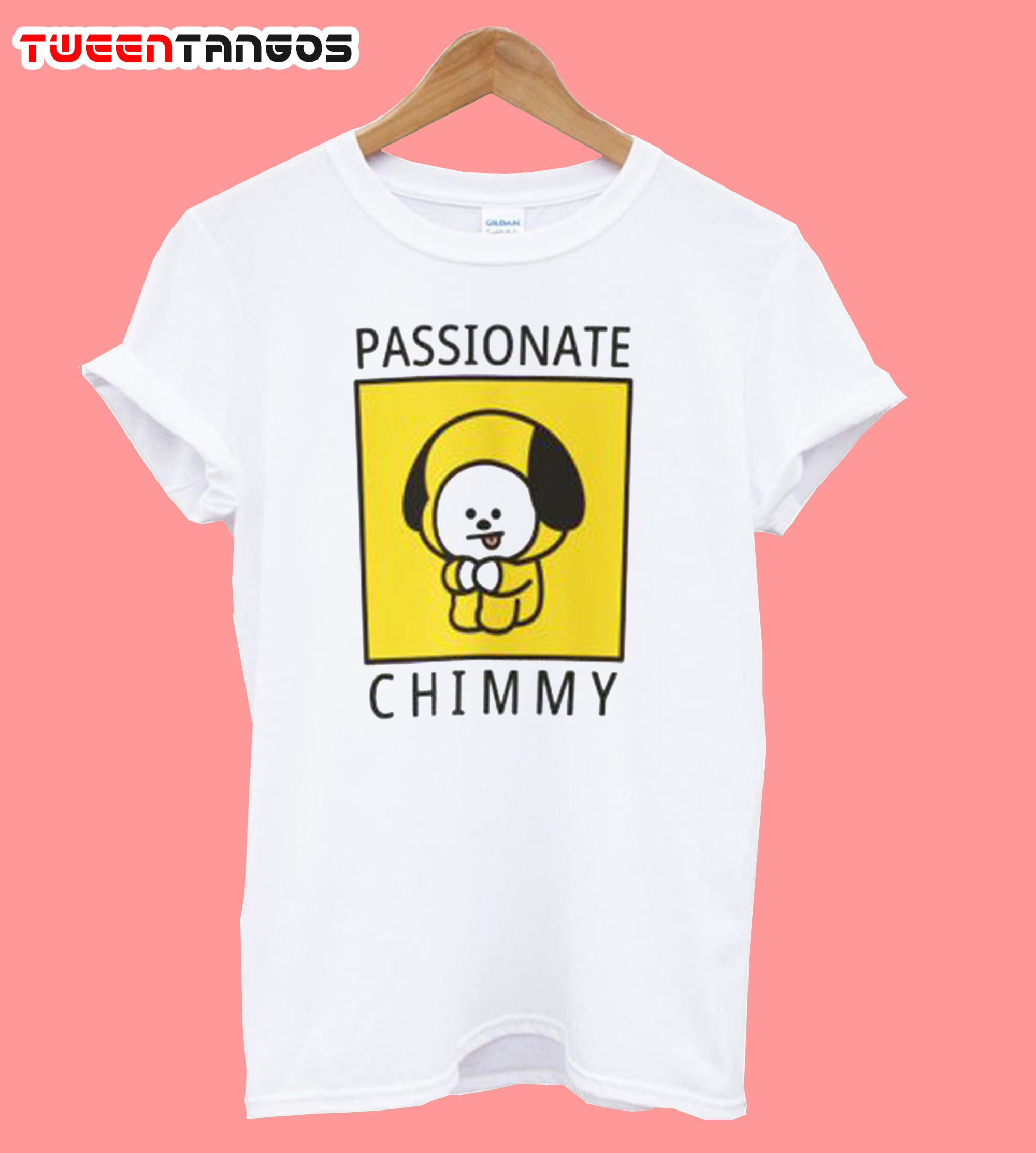 Passionate Chimmy Bt21 Uniqlo T-Shirt