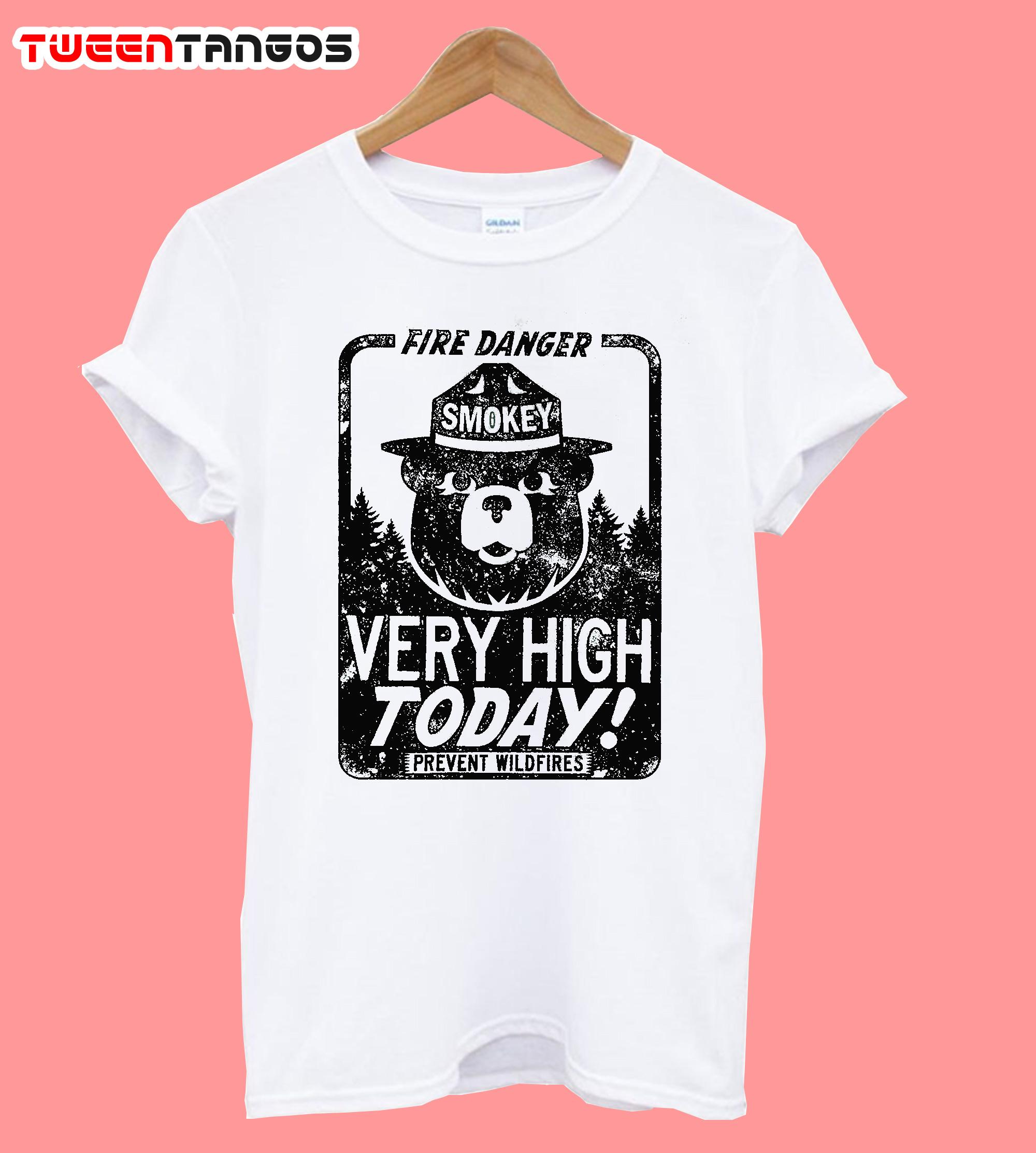 Fire Danger Smokey The Bear T-Shirt