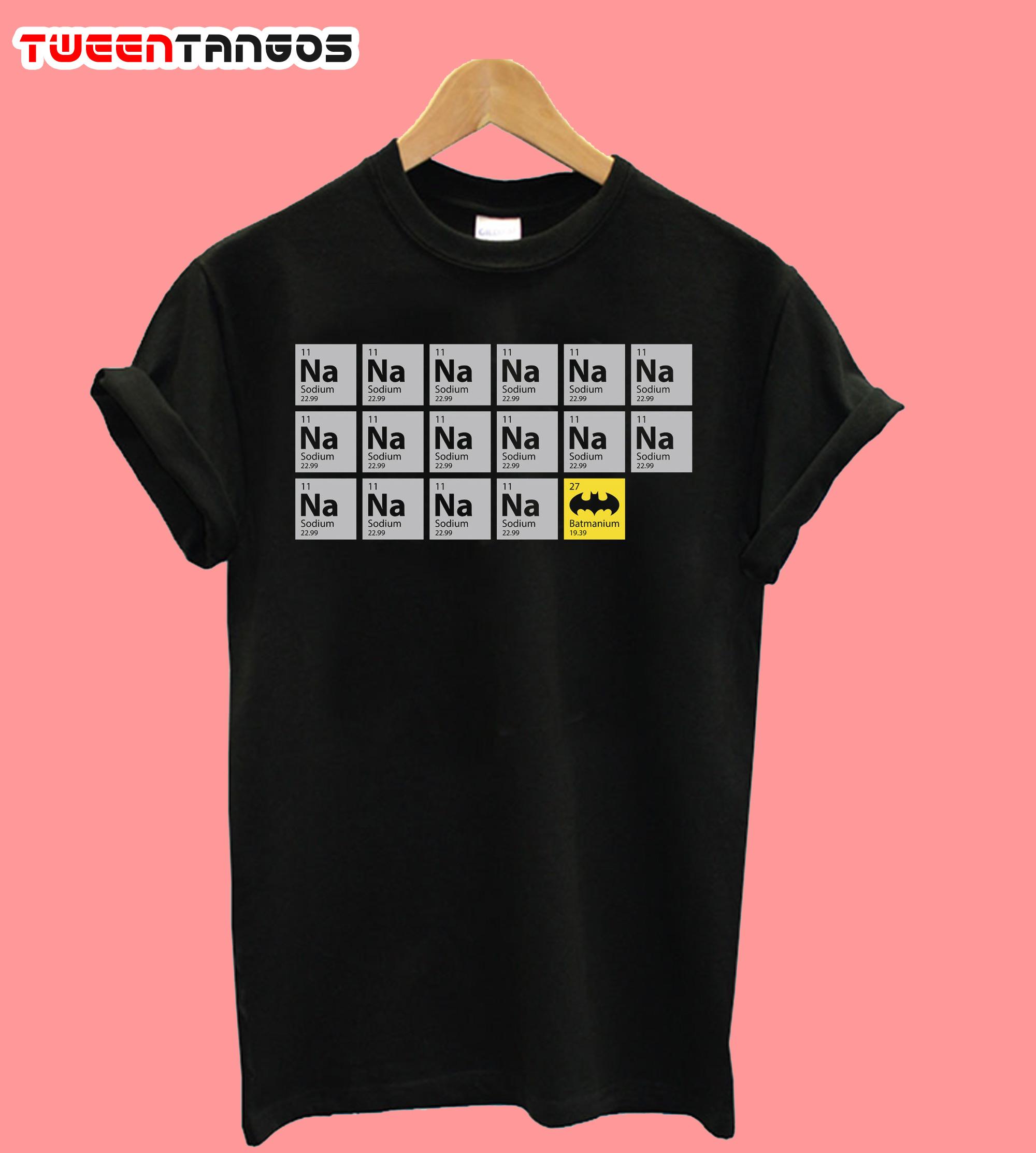 Batmanium T-Shirt