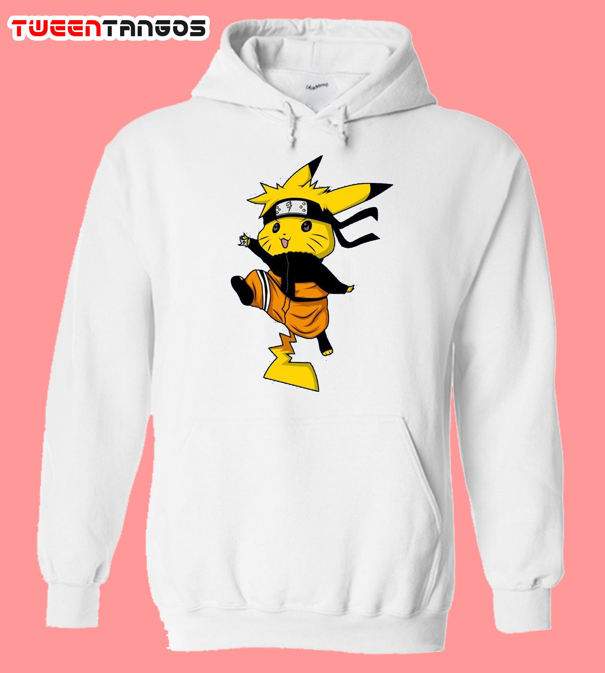 Naruto Pikachu Hoodie
