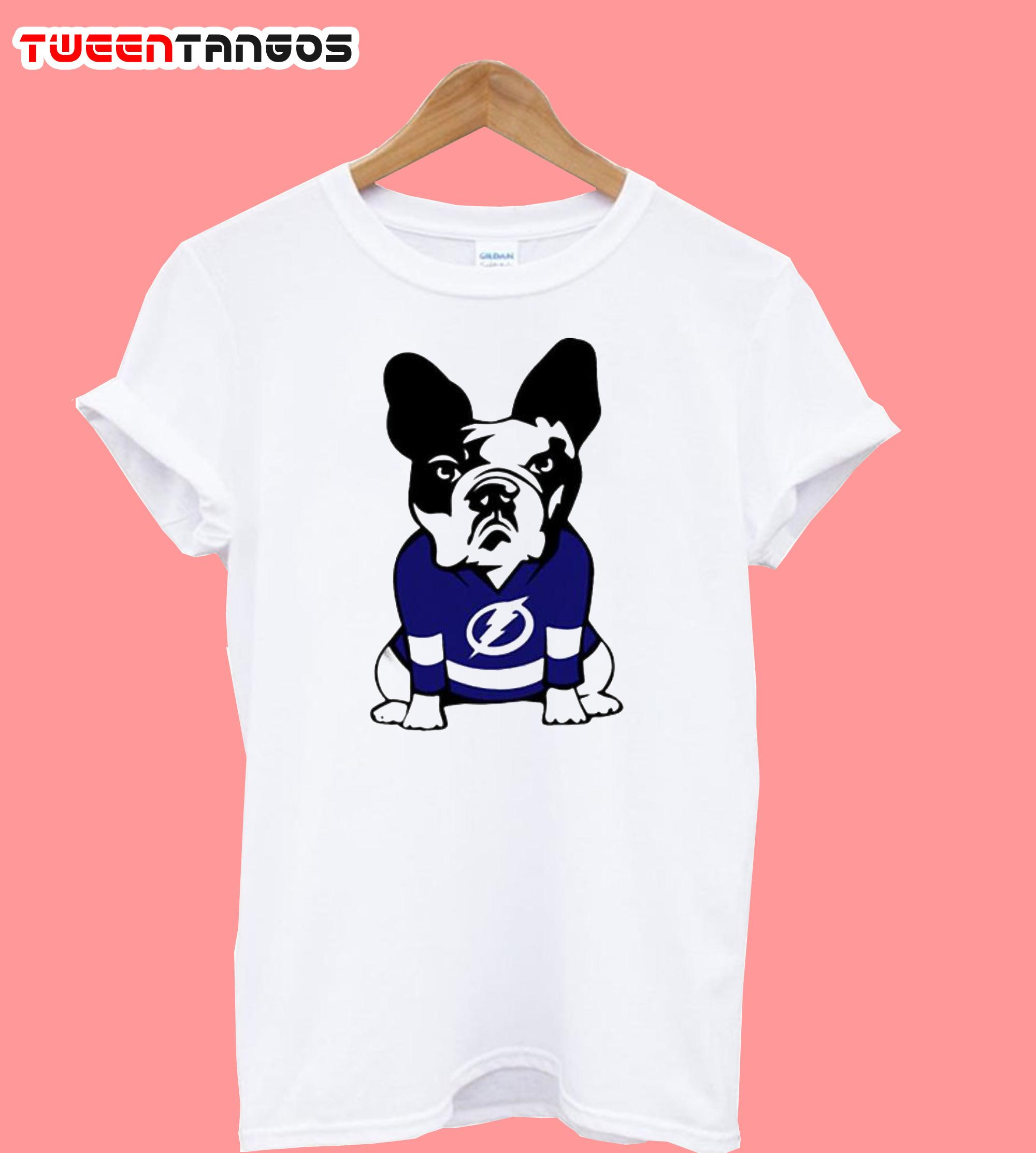 Tampa Bay Lightning French Bulldog T-Shirt