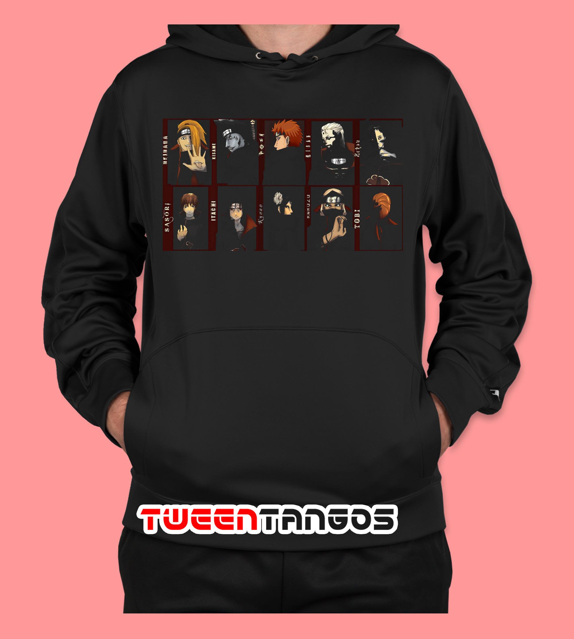 Akatsuki Naruto Members Hoodie