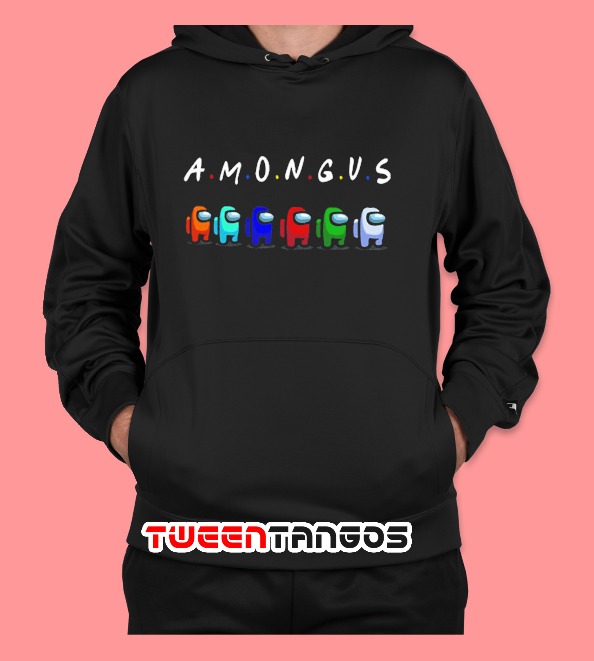 Among Us With Friends Style Hoodie