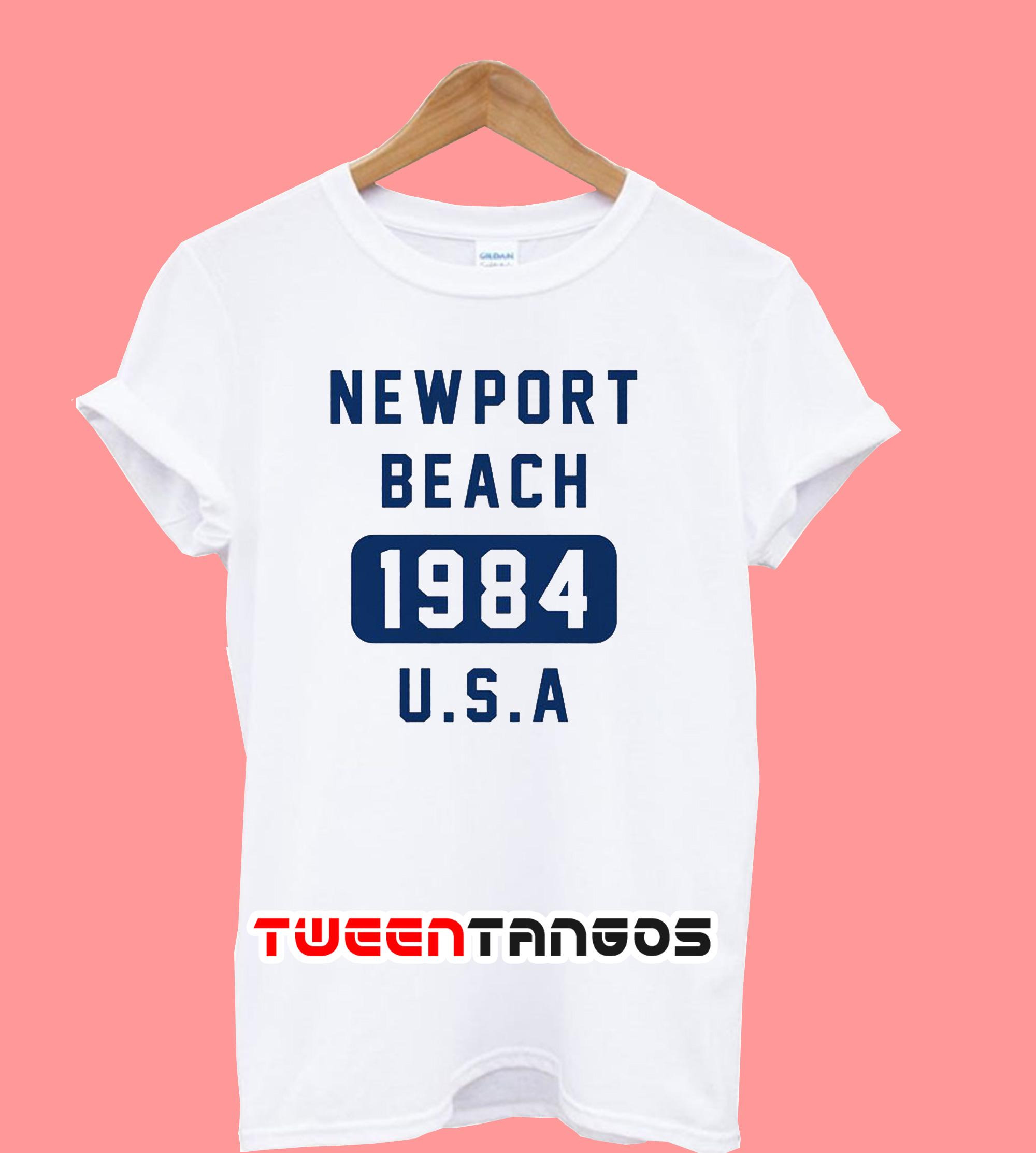 Newport Beach 1984 USA T-Shirt