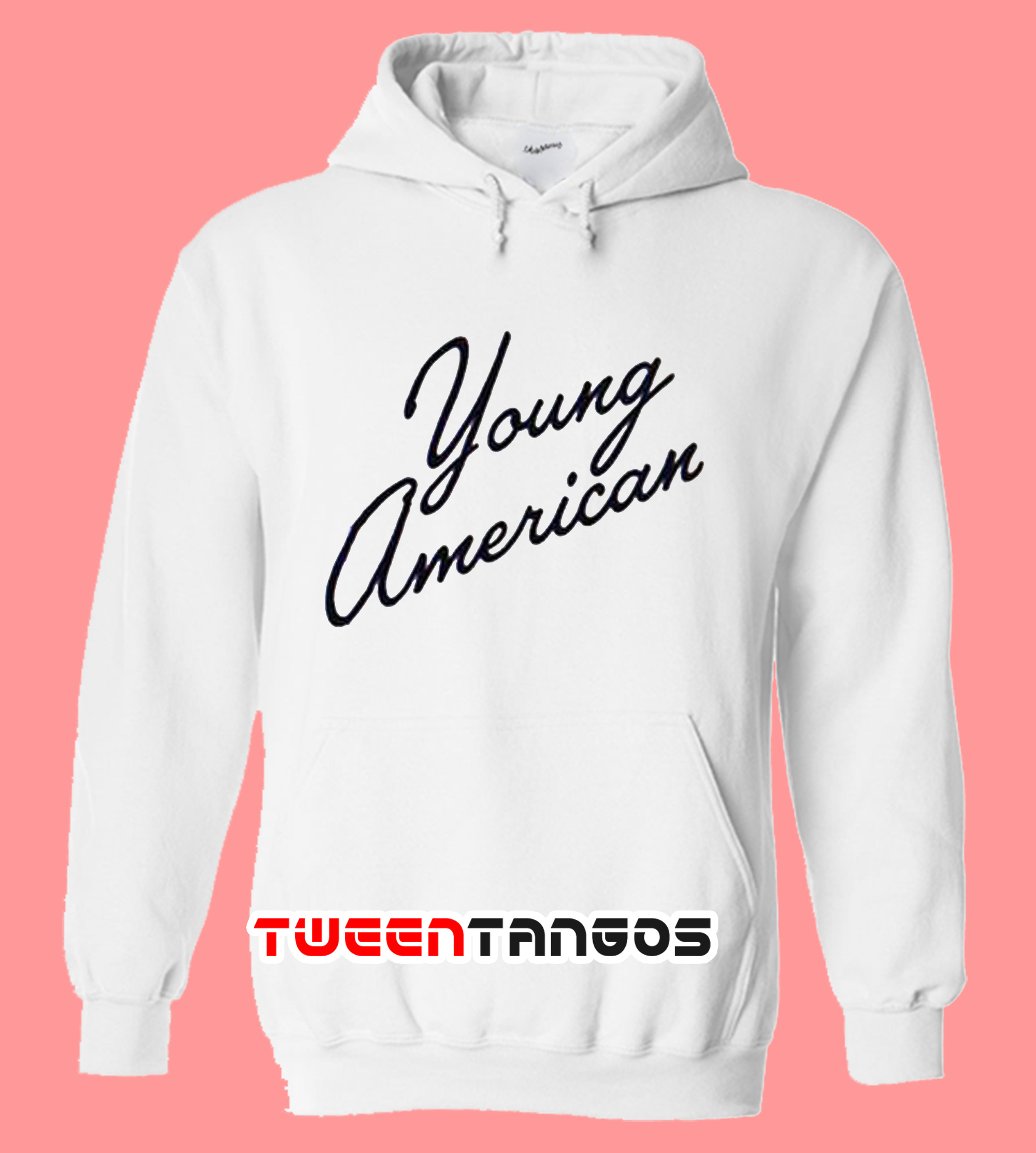 Young American White Hoodie