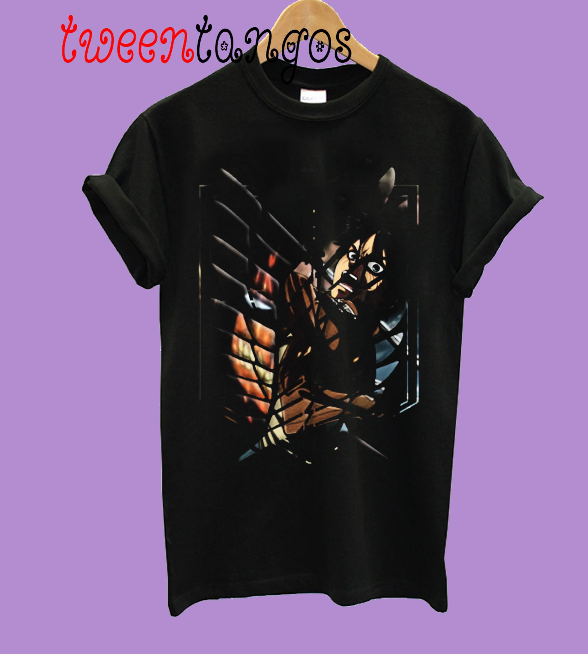 Wings of Freedom Eren T-Shirt