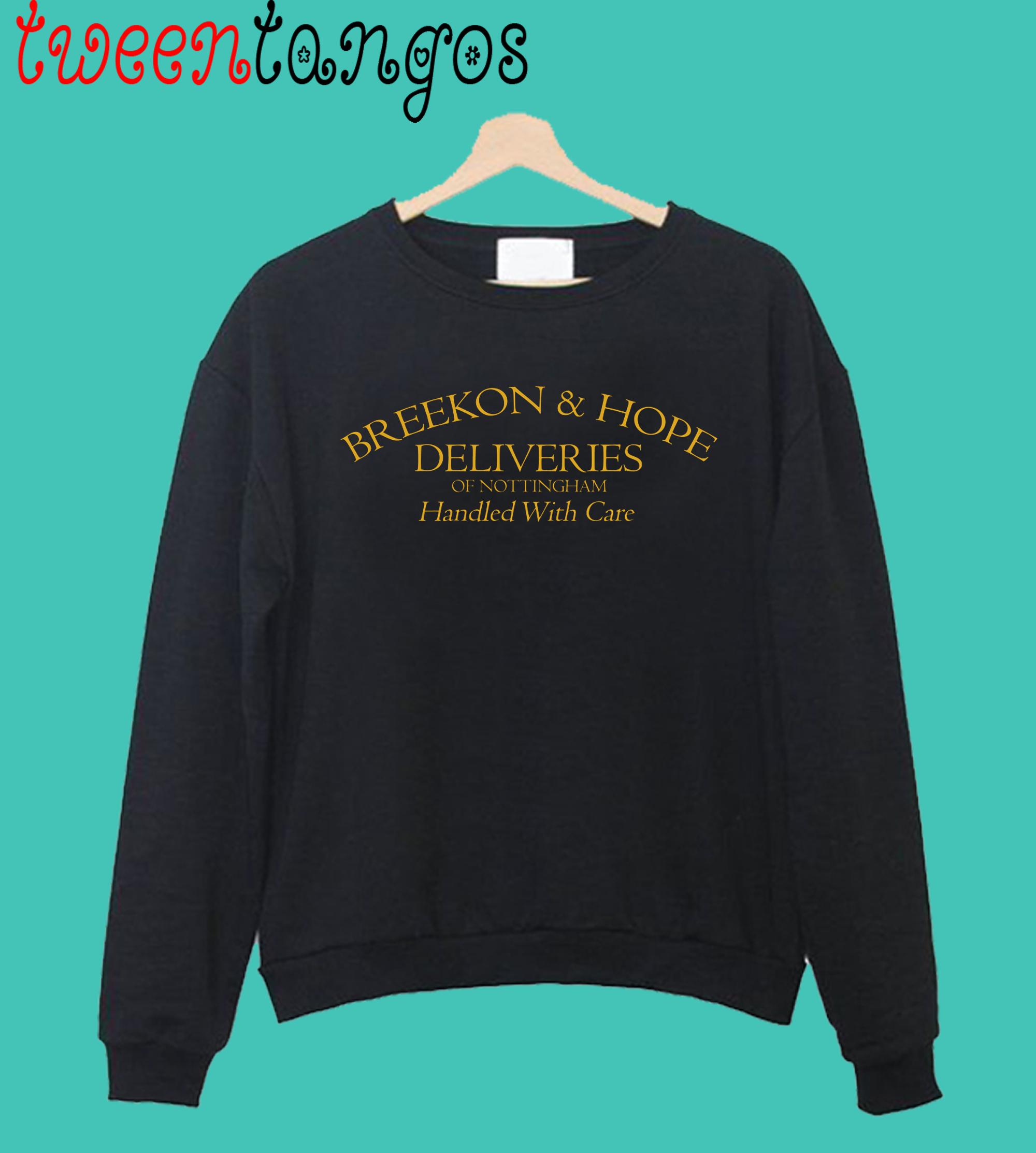 Breekon & Hope Deliveries Crewneck Sweatshirt