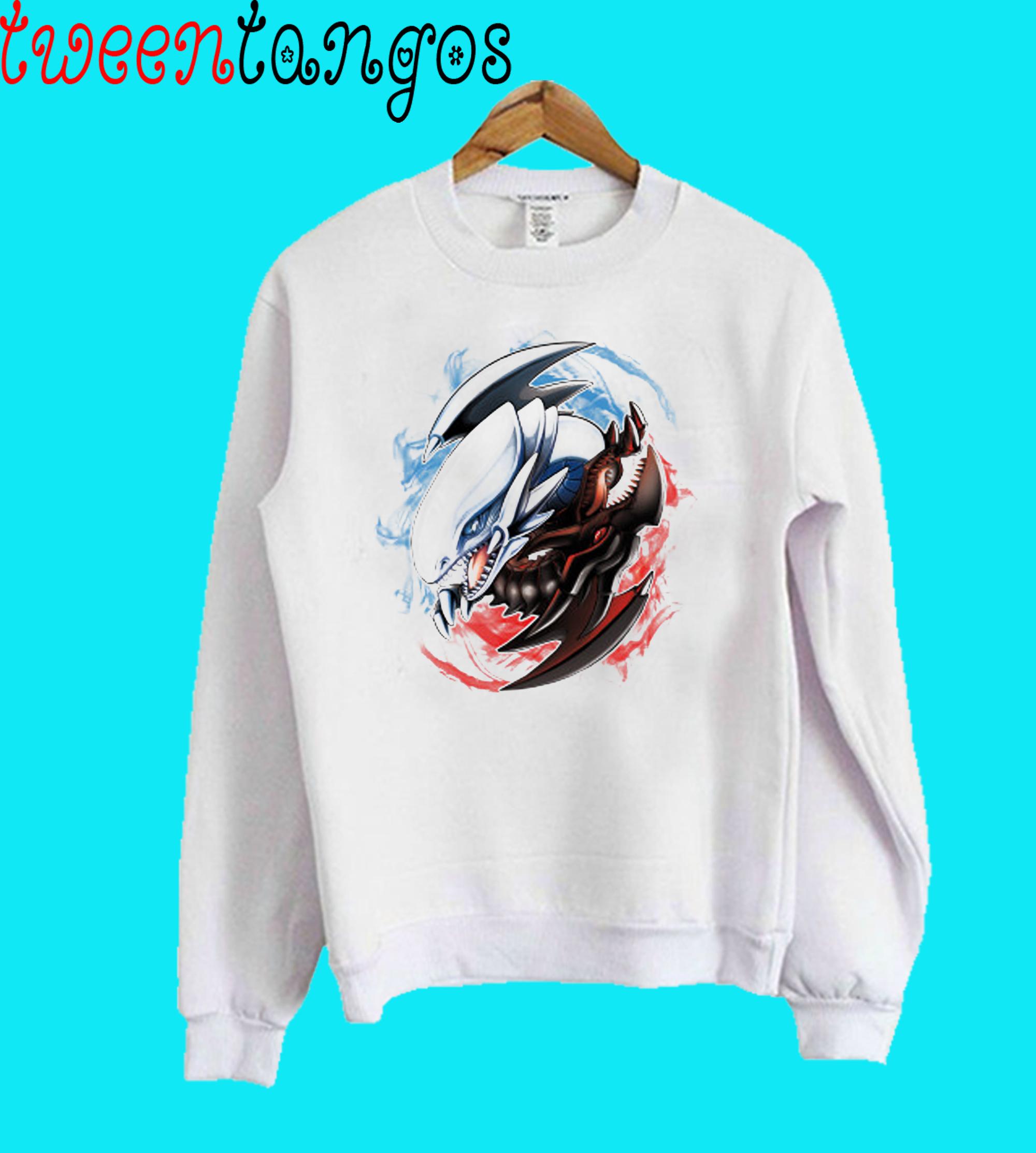 Yu-Yin-Yang-oh! Crewneck Sweatshirt