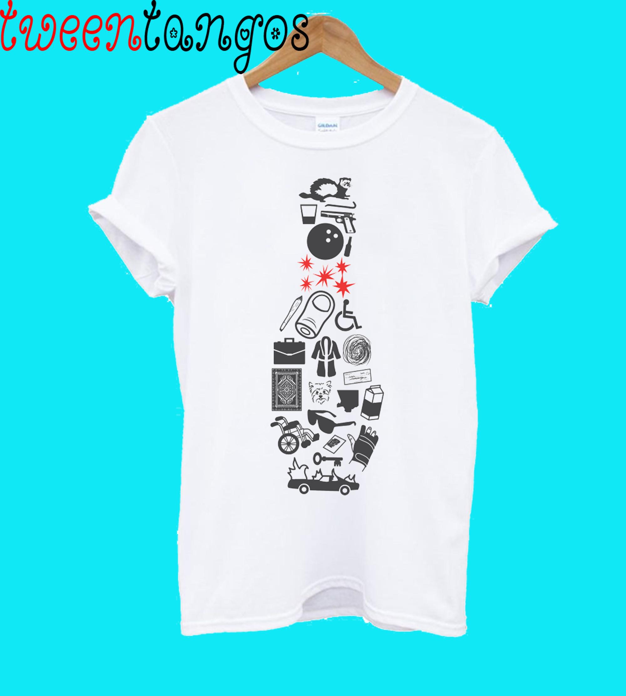 Elements Of Lebowski T-Shirt