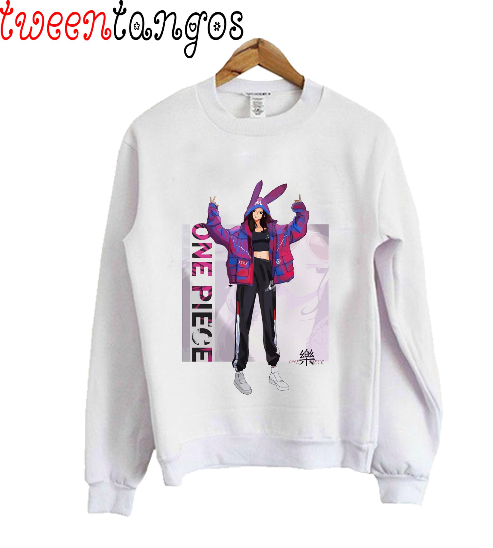 Nico Robin One Piece Fashion Sweatshirt