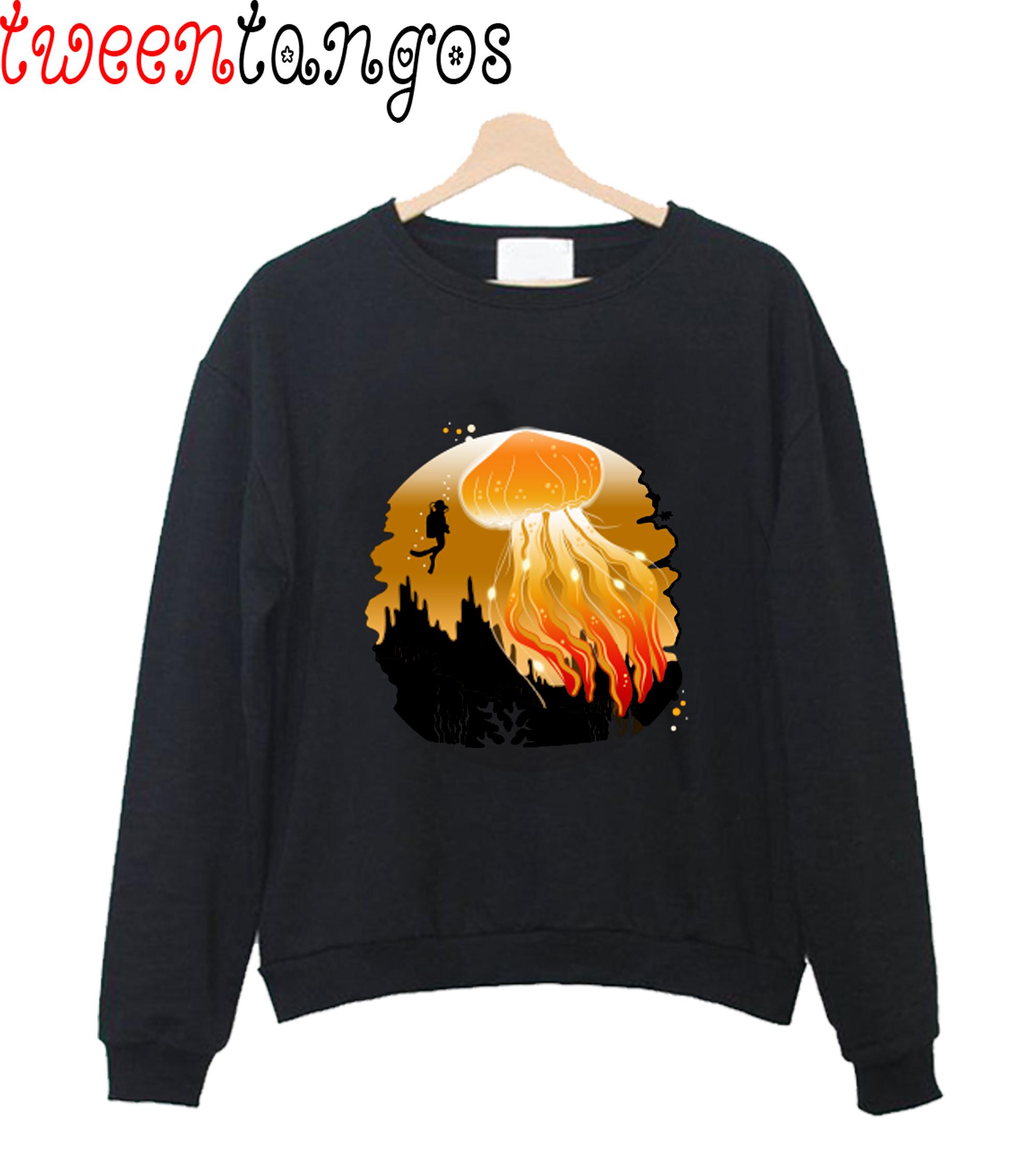 The Beauty of Deep Sea Sweatshirt